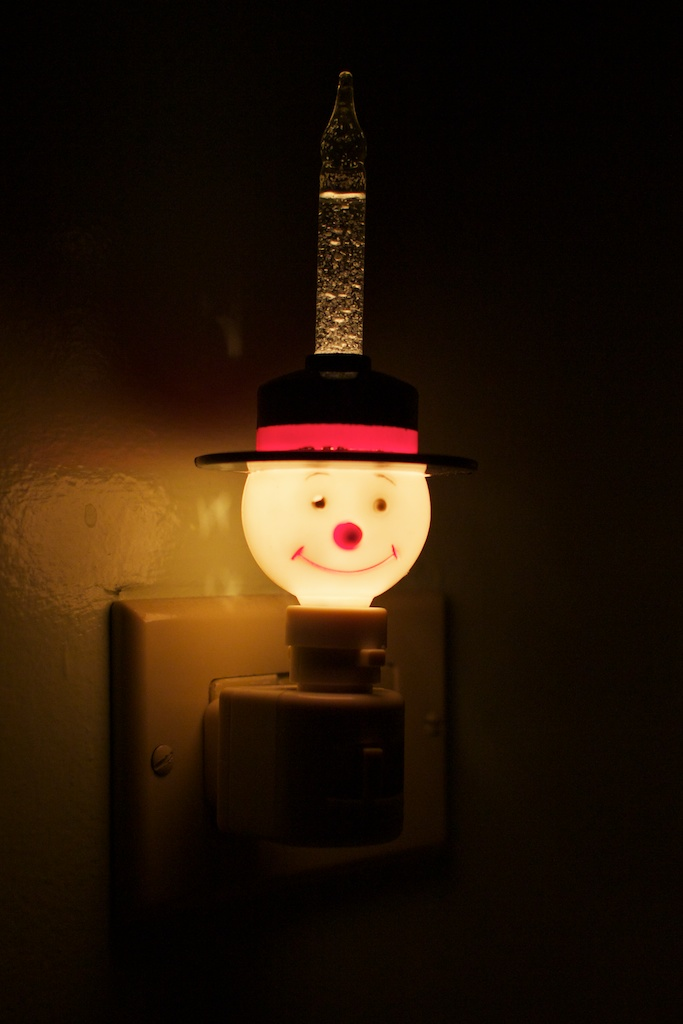 Frosty the nightlight