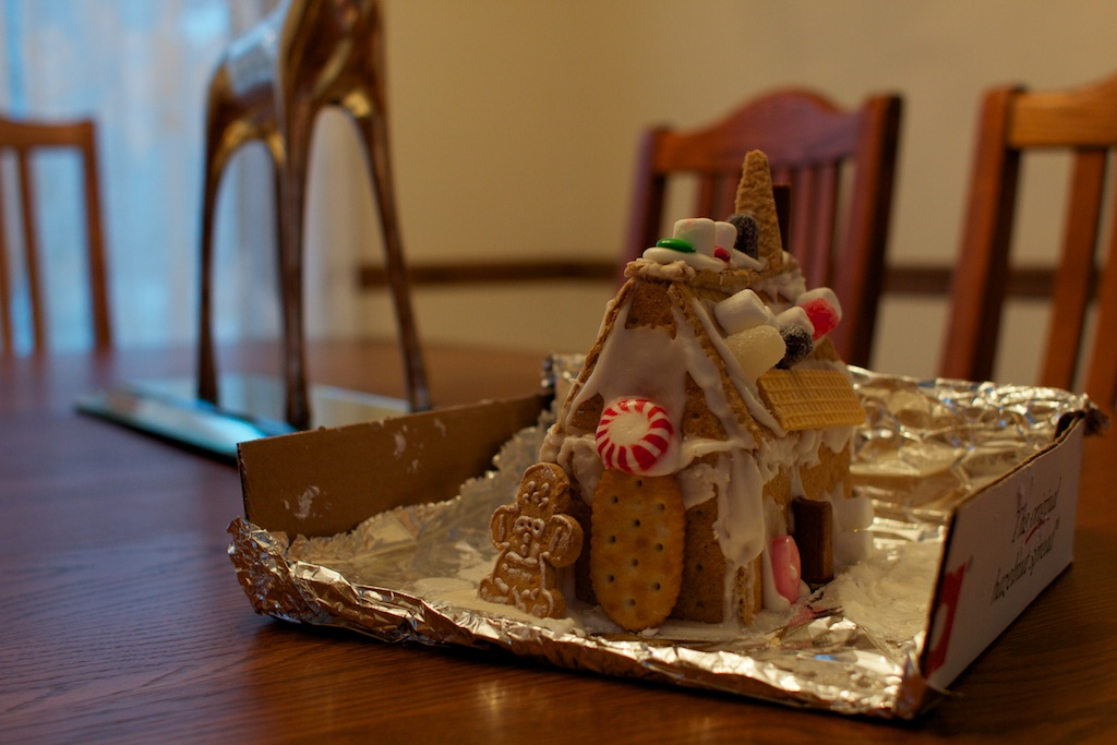 Gingerbread house by Evan